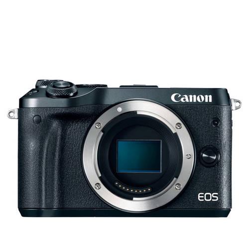 Canon EOS M6 systeemcamera Body Zwart
