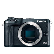 Canon EOS M6 Black Body Systeem camera