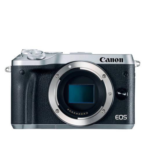 Canon EOS M6 systeemcamera Body Zilver