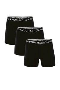 Muchachomalo boxershort (set van 3), Zwart/wit