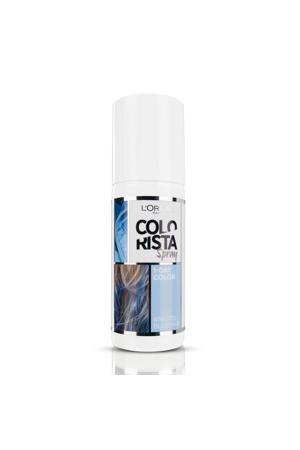 Colorista Spray 1 dag haarkleuring - pastel blue