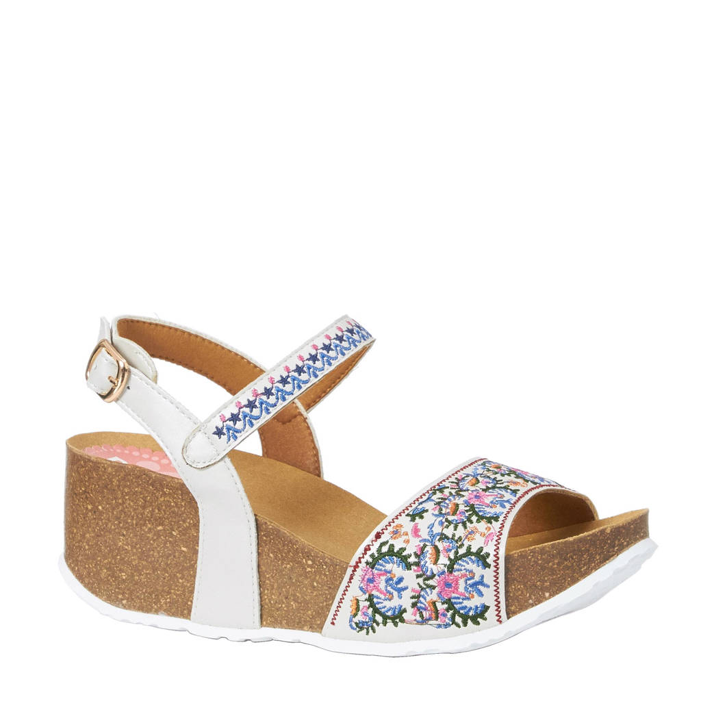 Desigual sandalettes, Wit