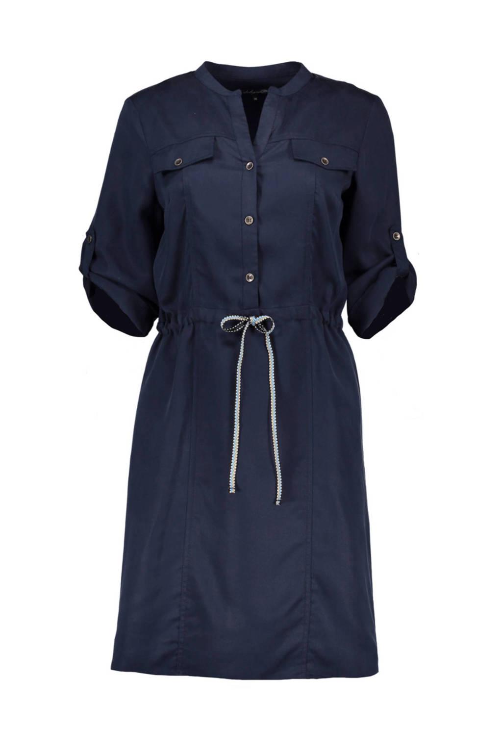 La Ligna blousejurk, Donkerblauw