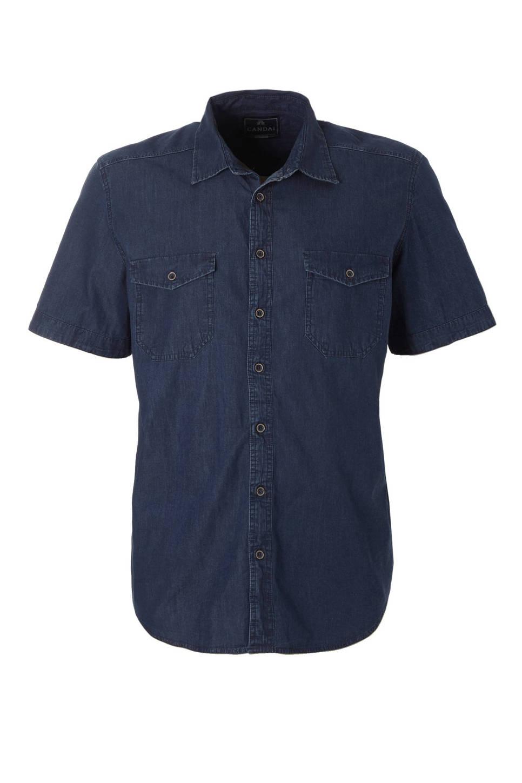 Denim Heren Overhemd.C A Heren Xl Regular Fit Denim Overhemd Heren Wehkamp