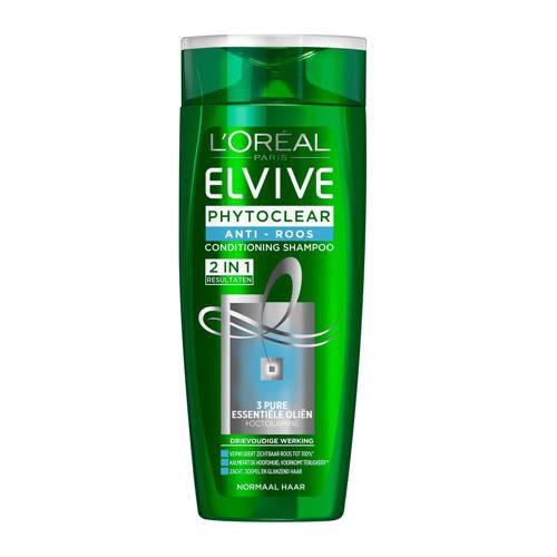 L'Oréal Paris Elvive Phytoclear Anti-Roos shampoo 2in1 - 250ml