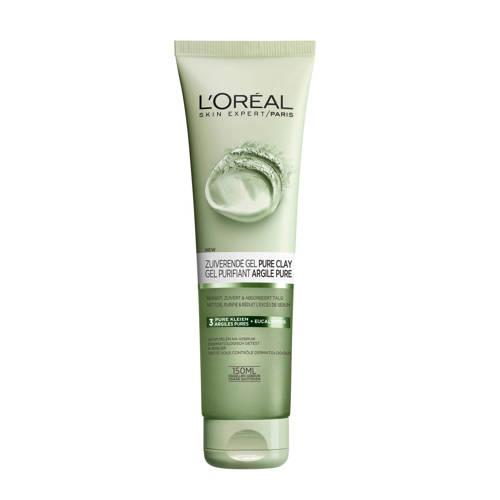 L'Oréal Paris Skin Expert Skin Expert Pure Clay reinigingsgel - 150 ml