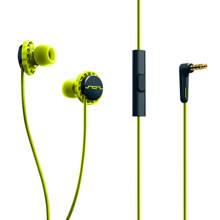 in-ear sport koptelefoon lime