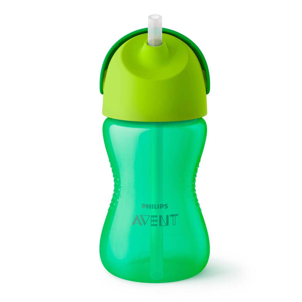 Philips AVENT SCF798/01 rietjesbeker 300 ml groen, Groen