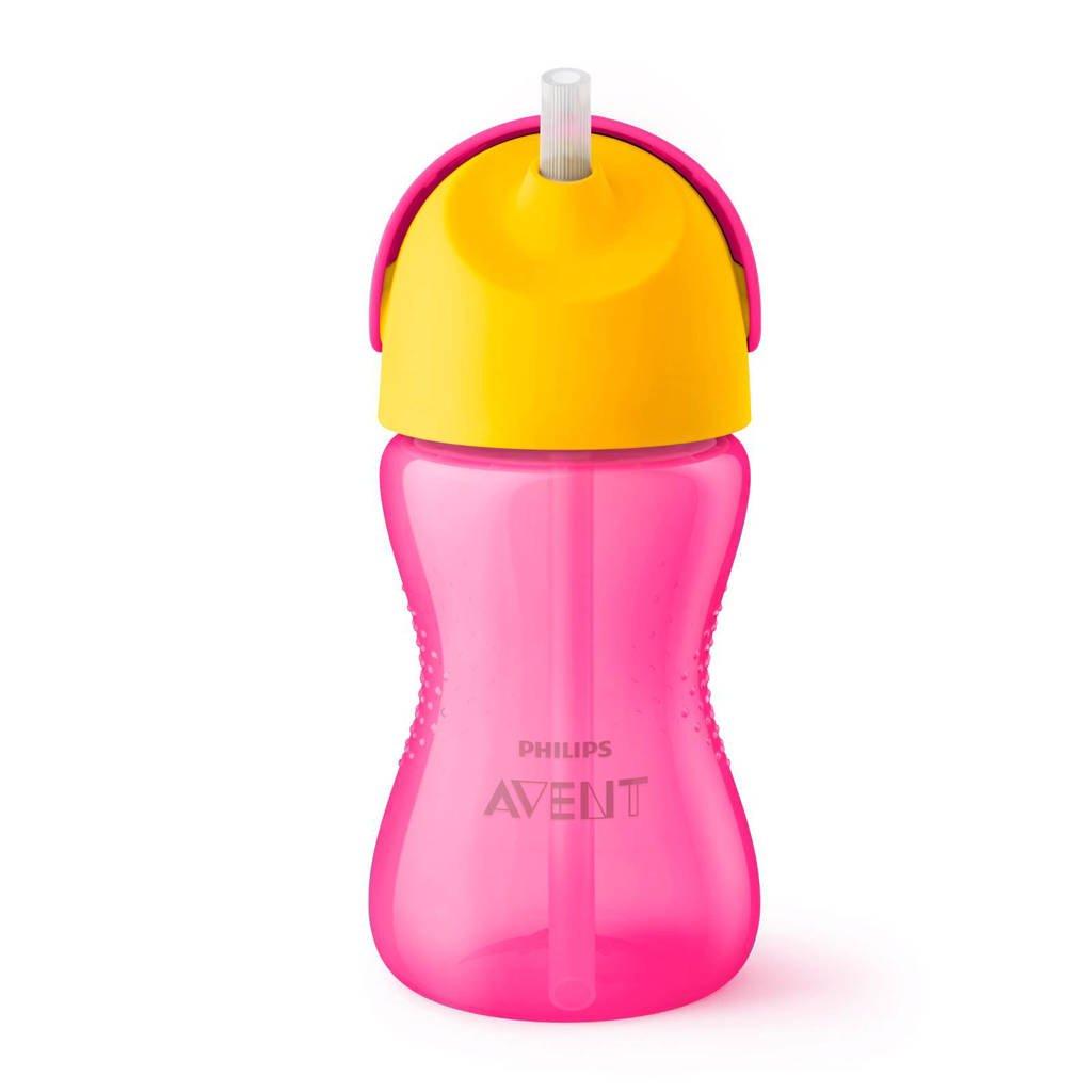 Philips AVENT SCF798/02 rietjesbeker 300 ml roze, Roze