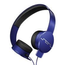 on-ear koptelefoon blauw