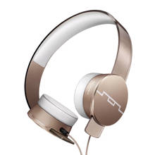 on-ear koptelefoon goud