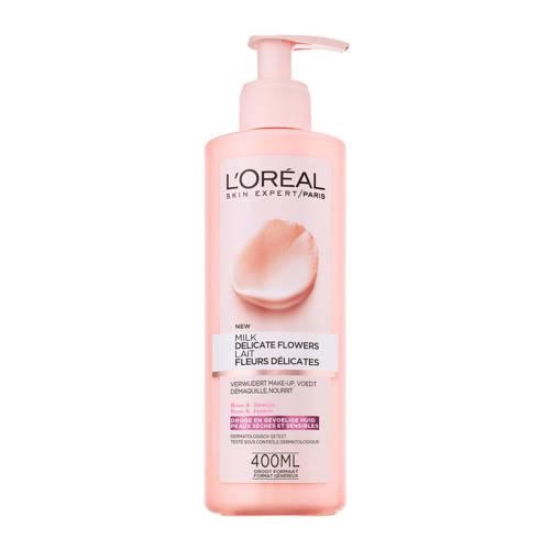 L'Oréal Paris Skin Expert Delicate Flowers Reinigingsmelk - 400 ml