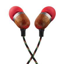 In-ear koptelefoon hout