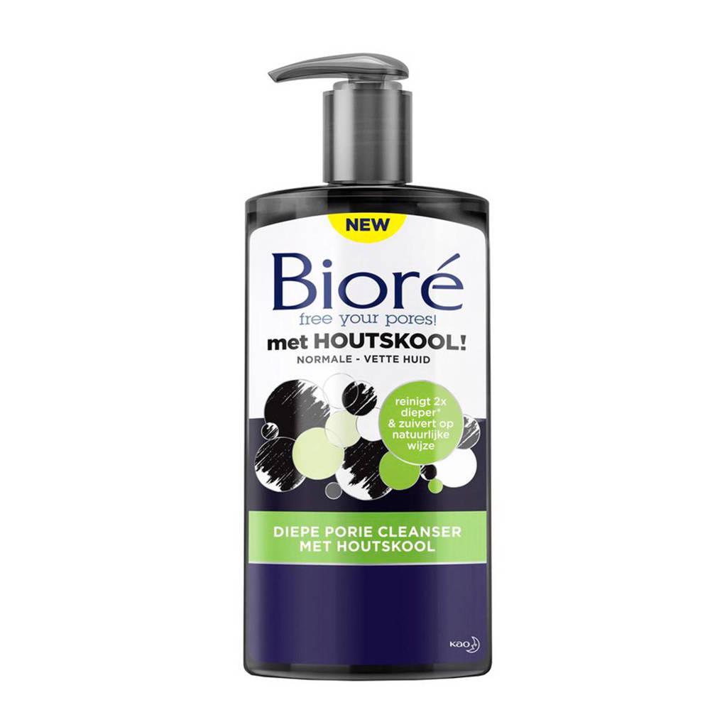 Bioré Diepe Porie Cleanser met Houtskool - 200 ml