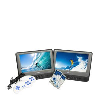 DVP9948DUO+GC portable DVD-speler met 2 schermen/2 spelers