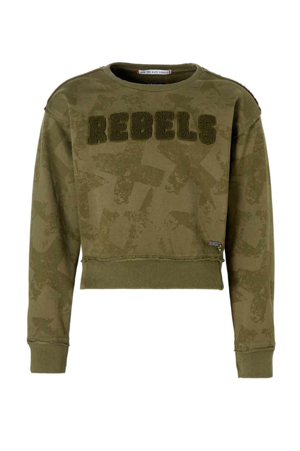 9d337b74b66 Blue Rebel sweater, leger groen