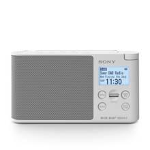XDR-S41D draagbare DAB radio wit