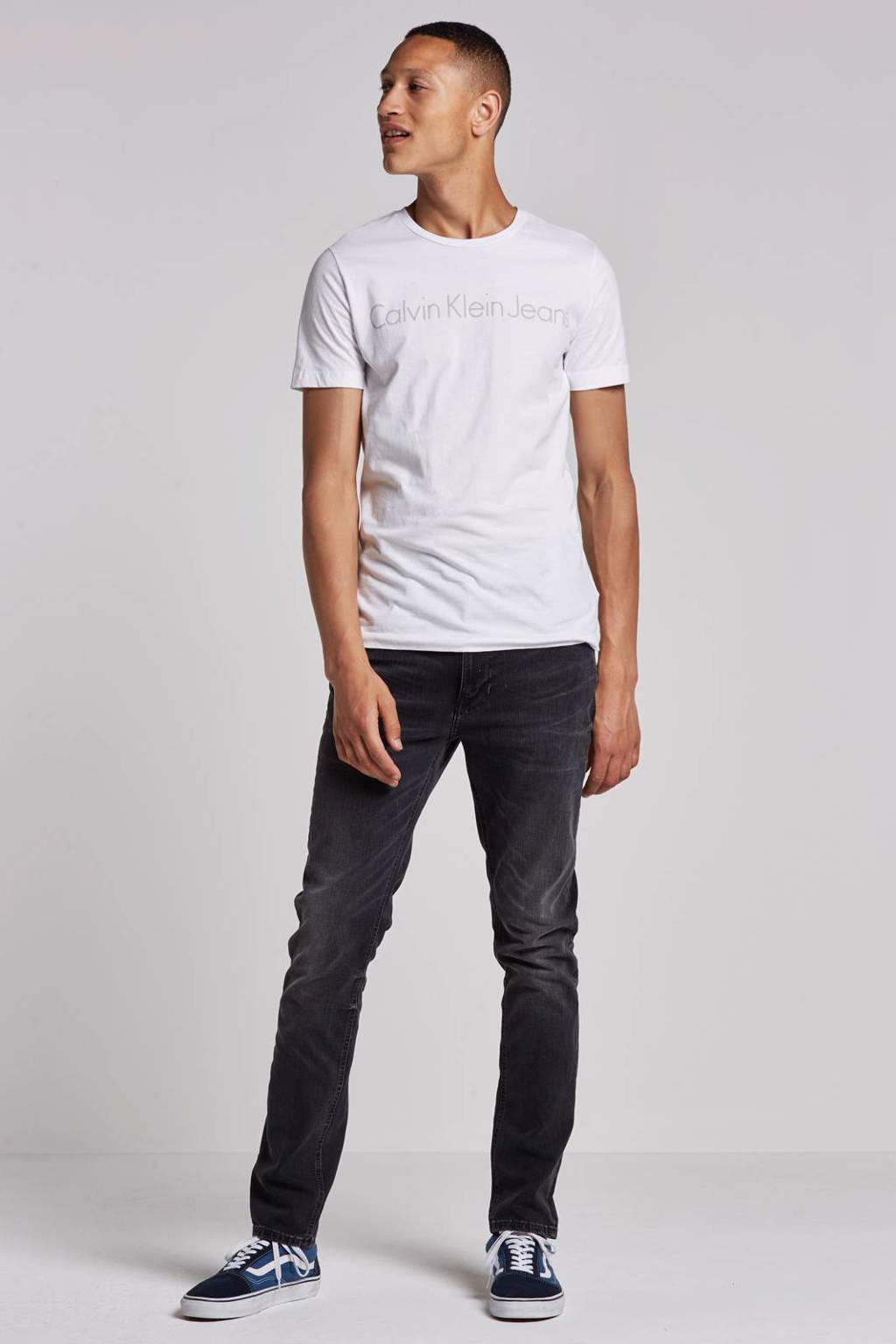 Nudie Jeans Lean Dean slim fit jeans, Black Sage