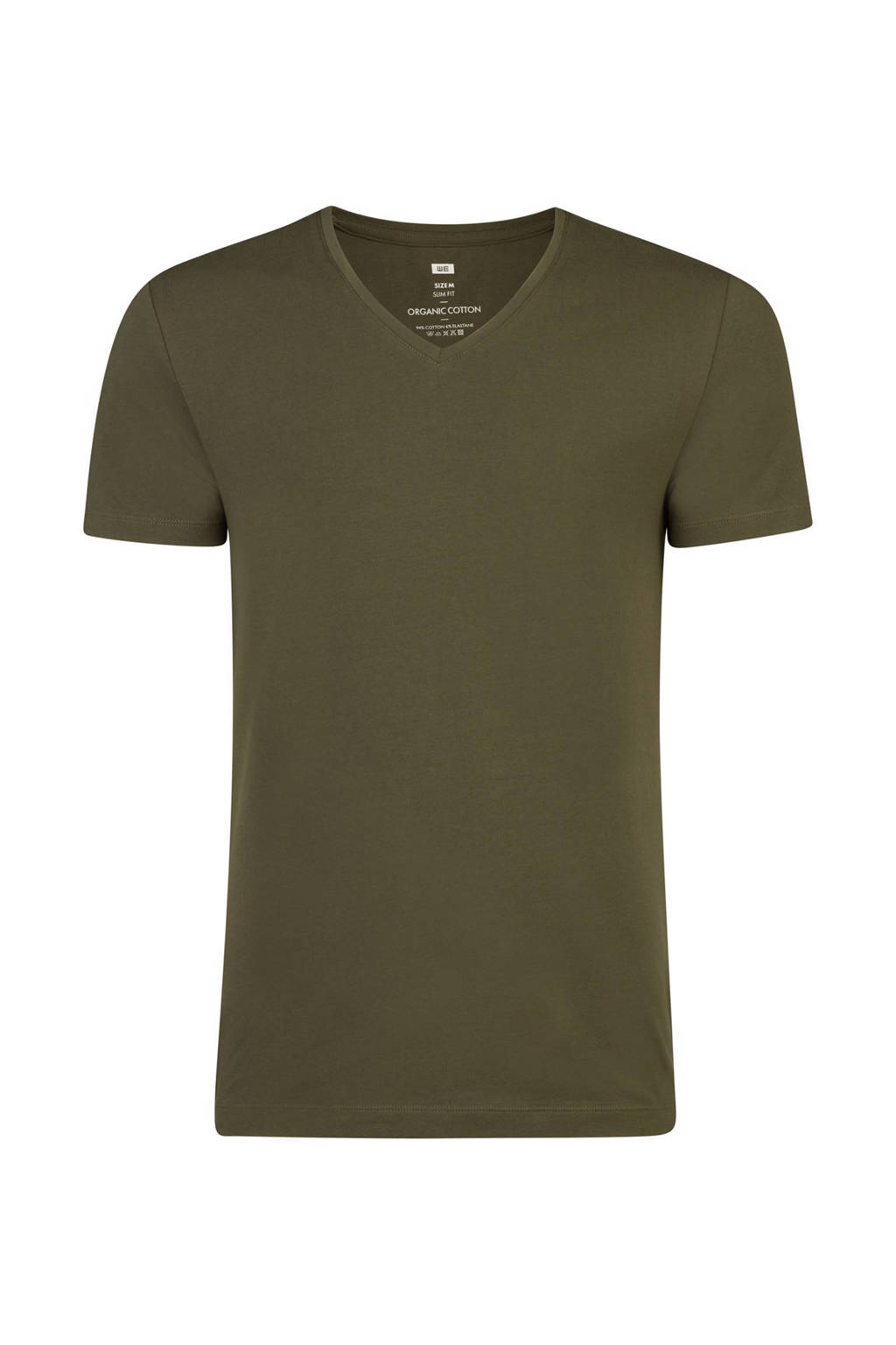 WE Fashion T-shirt, Legergroen