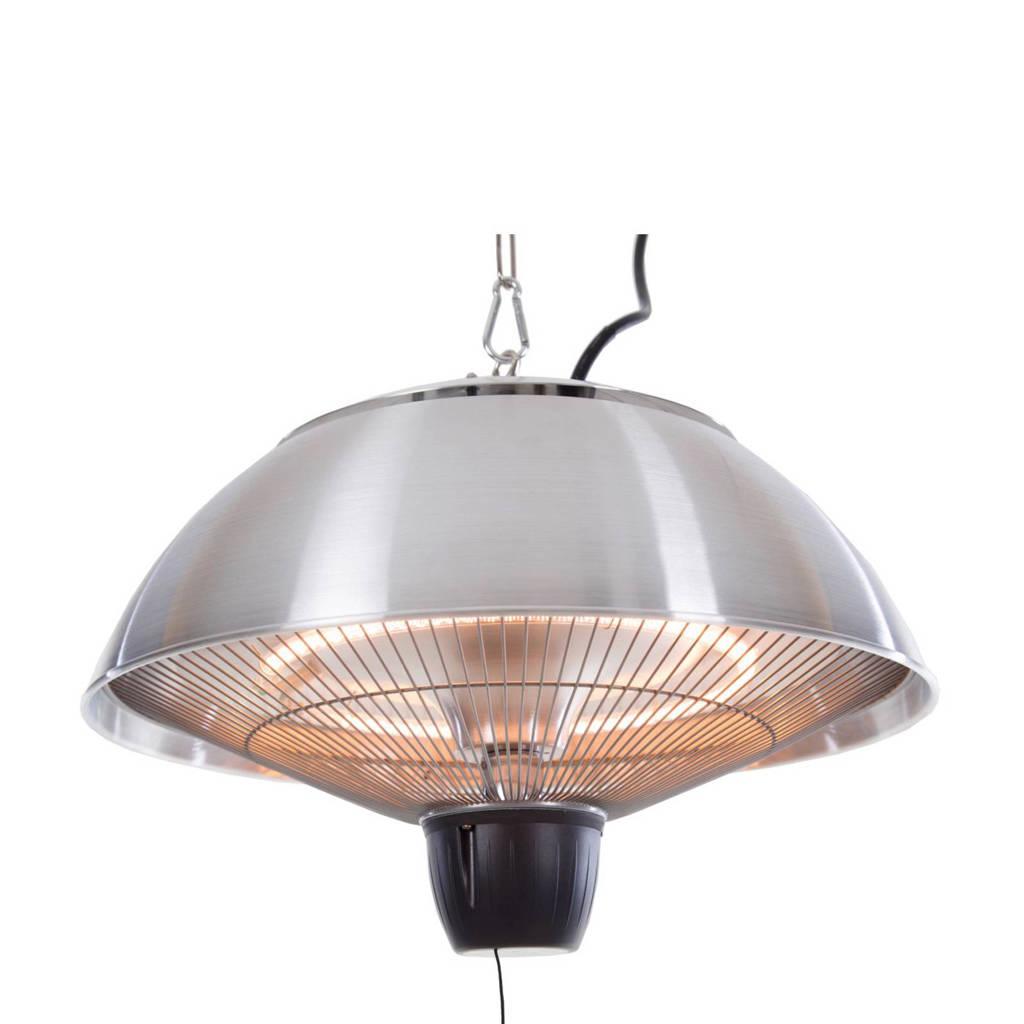 Sunred hangende terrasverwarmer CE11RVS, Zilver