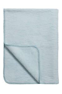 Meyco Uni ledikantdeken 100x150 cm blauw, Blauw