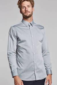 JACK & JONES PREMIUM slim fit overhemd, Grijs