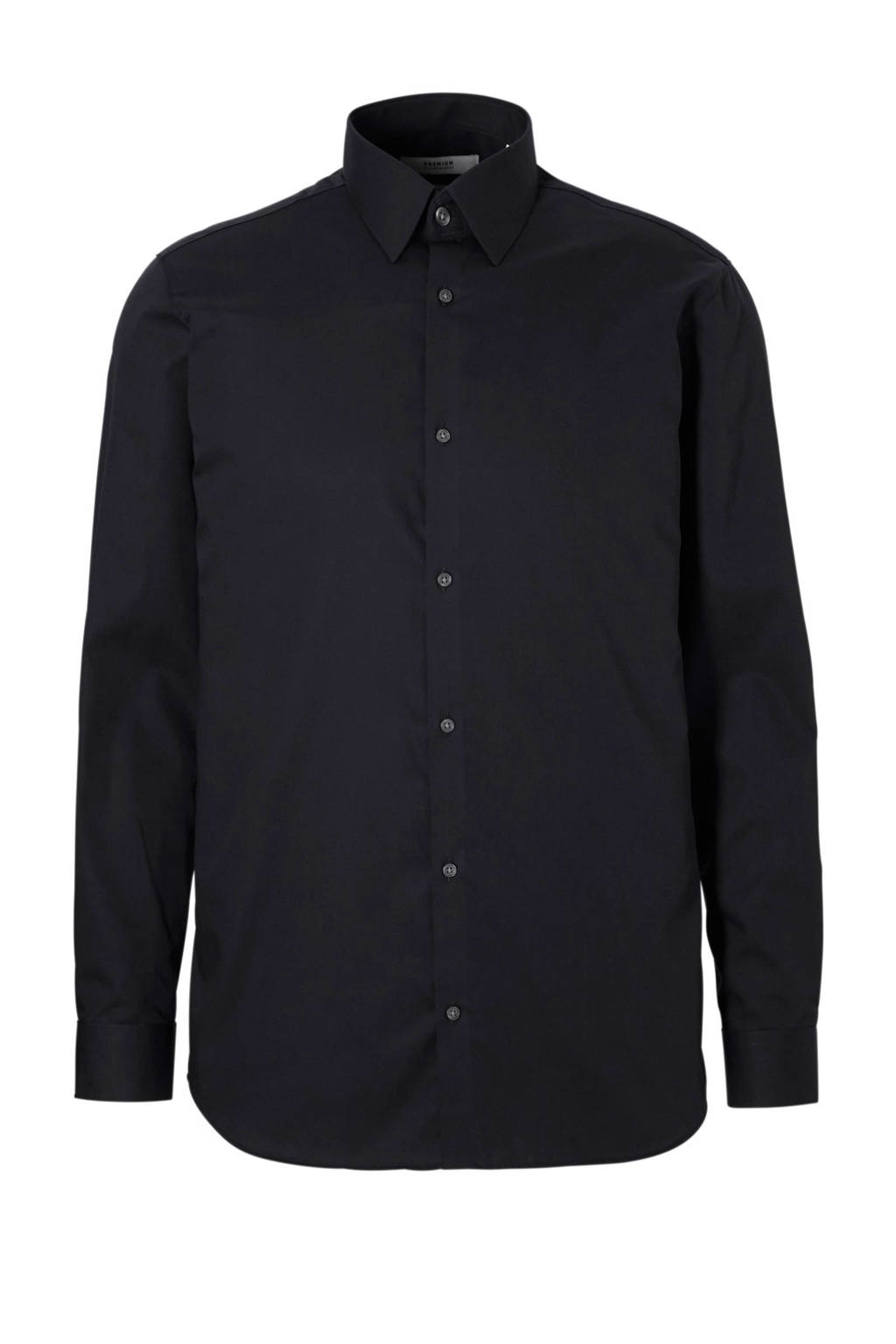 Overhemd Zwart Slim Fit.Jack Jones Premium Slim Fit Overhemd Wehkamp