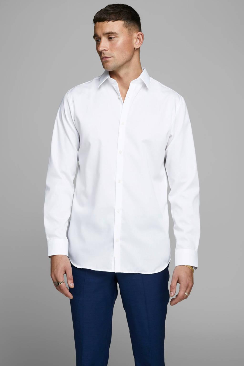 JACK & JONES PREMIUM slim fit overhemd, Wit