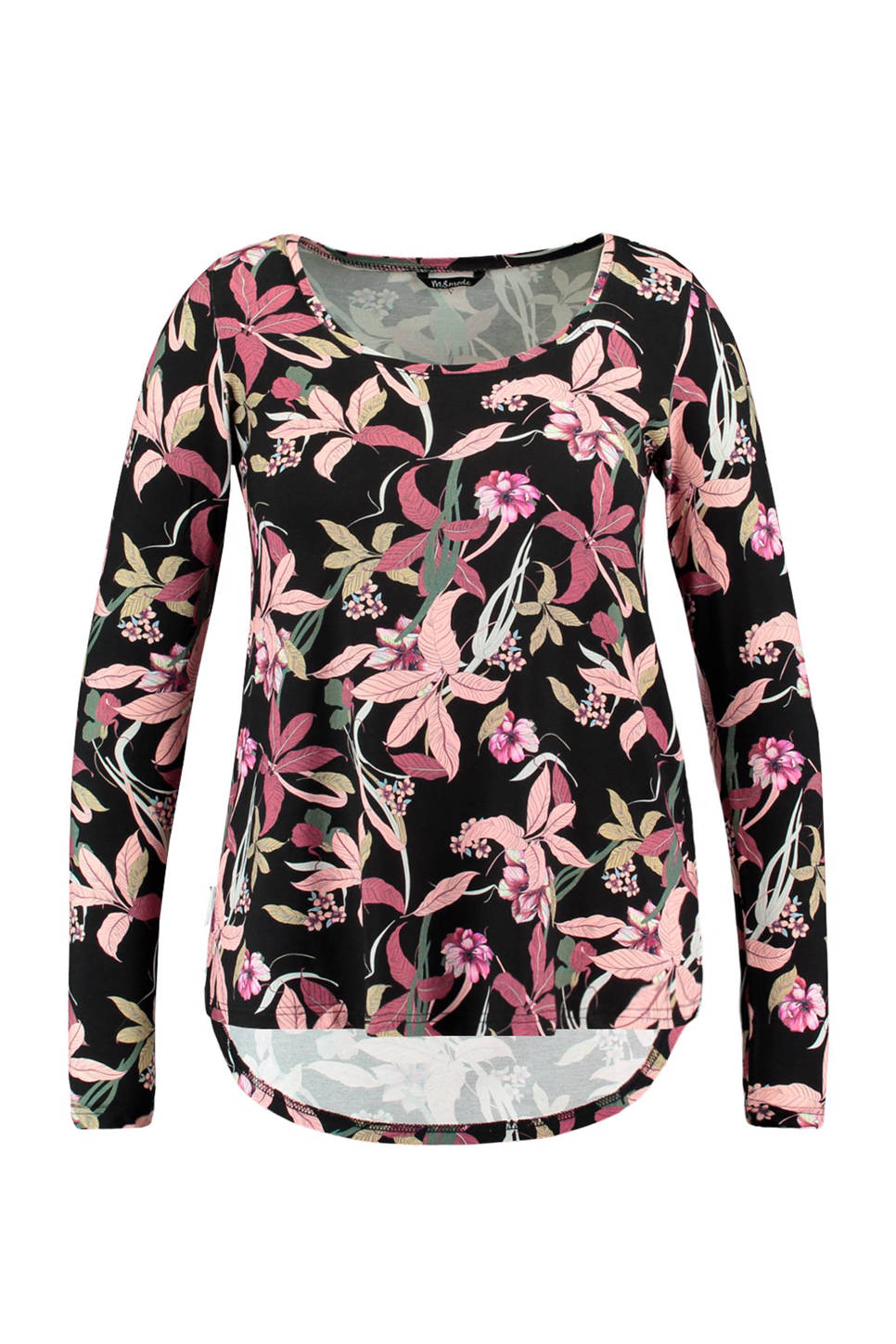 MS Mode longsleeve (dames), Zwart
