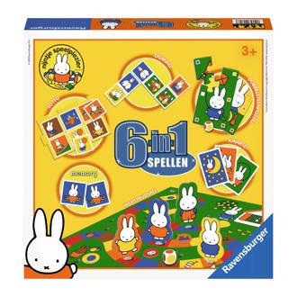 nijntje 6-in-1 spellendoos kinderspel