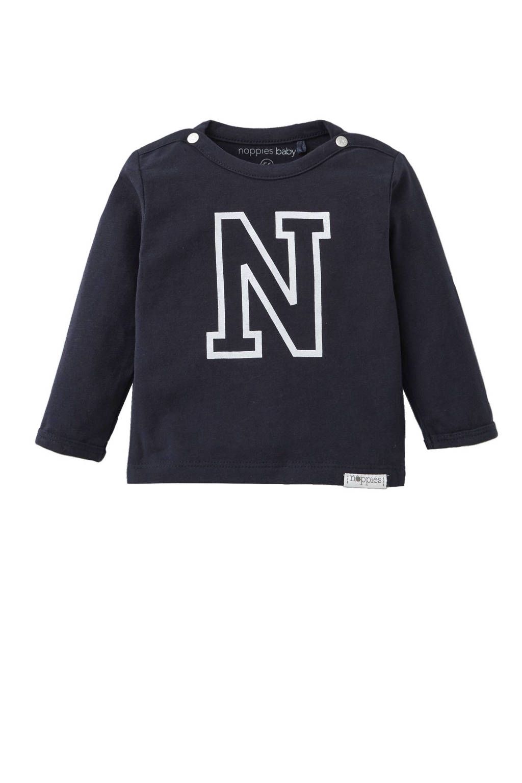 Noppies newborn baby longsleeve, Dark Blue