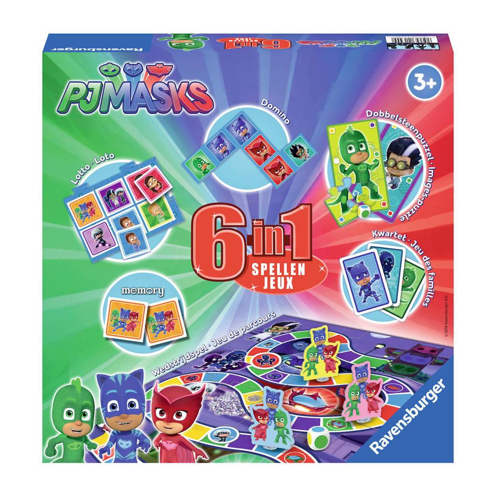 Ravensburger PJ Masks 6-in-1 spellendoos kinderspel