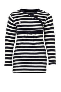 Noppies newborn baby jurk Wenen, Donkerblauw/wit