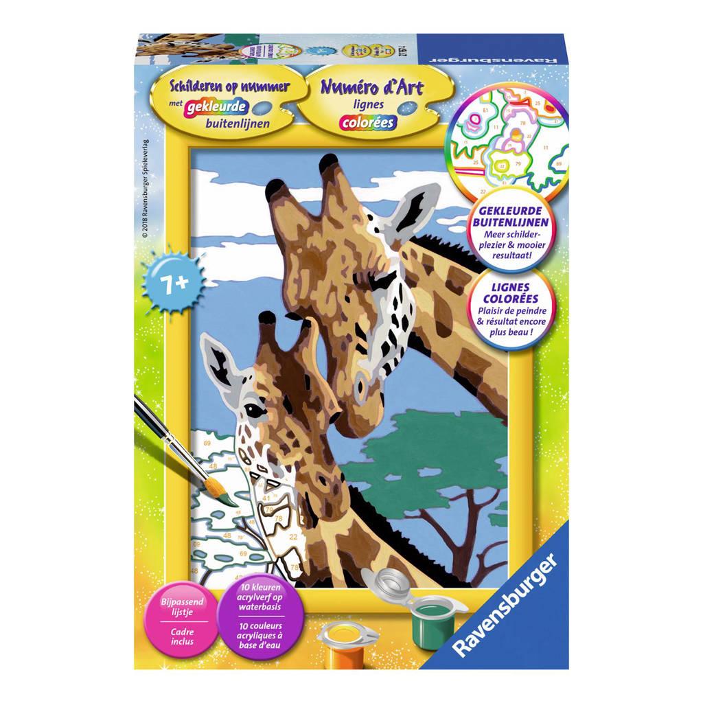 Ravensburger  Schilderen op nummer - giraffen