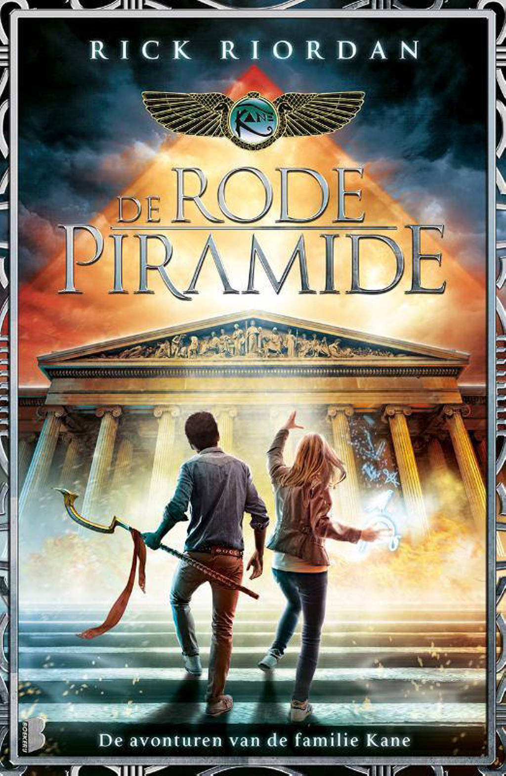De avonturen van de familie Kane: De rode piramide - Rick Riordan