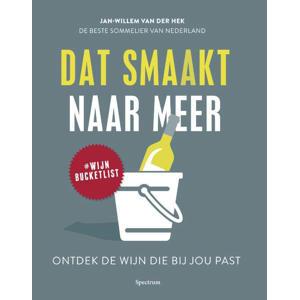 Datsmaakt naar meer - Jan-Willem van der Hek