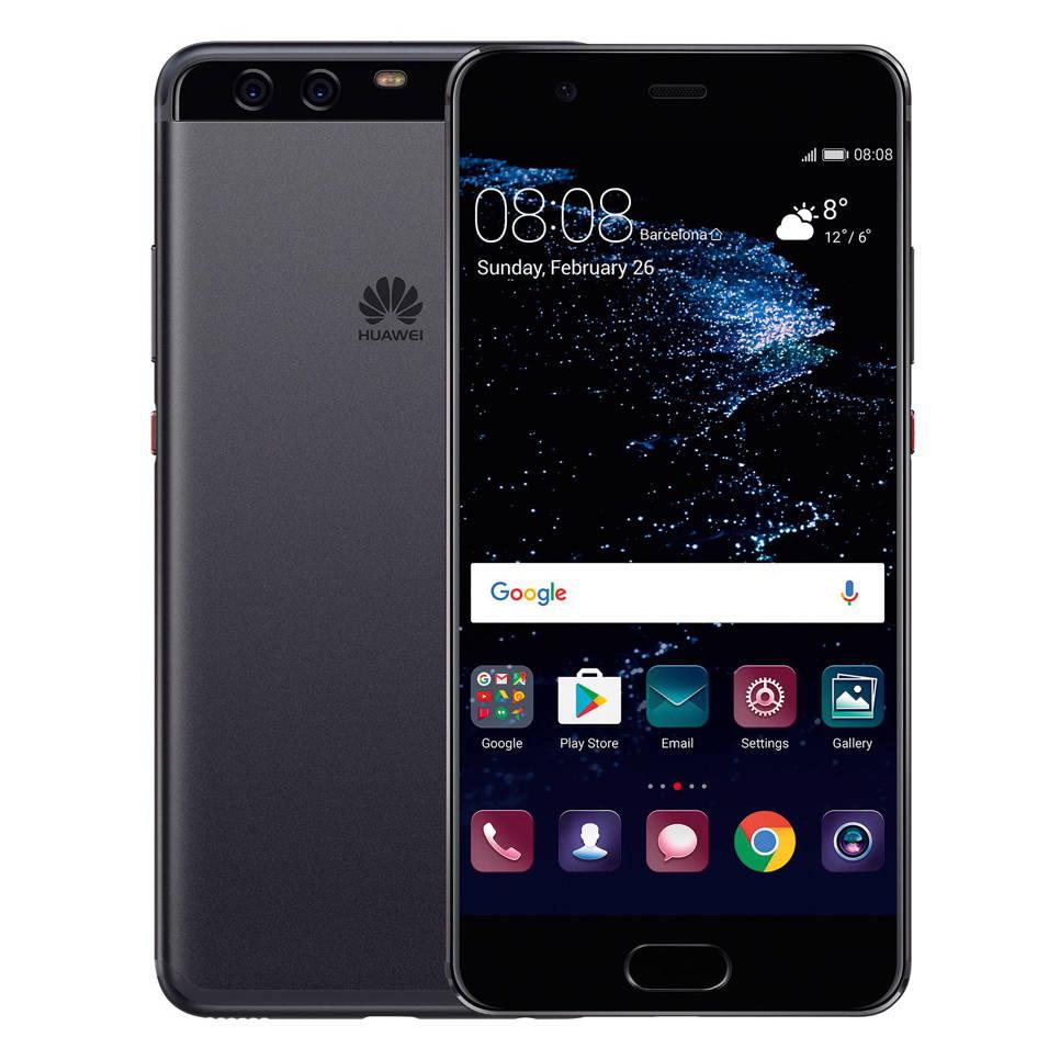 Huawei P10 Plus, Zwart;Grafiet