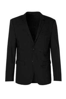 Tate-BM Stretch Wool fitted colbert