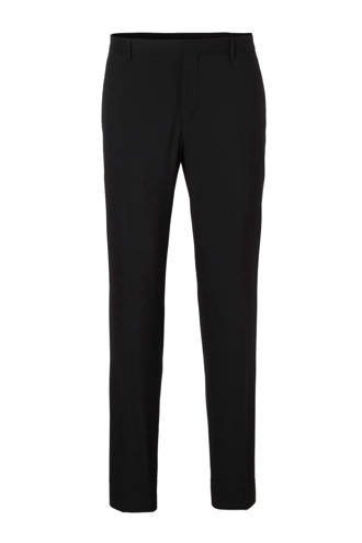 Paris-BM Stretch Wool fitted pantalon