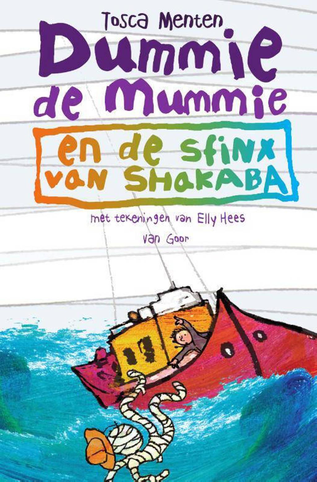 Dummie de mummie: Dummie de mummie en de sfinx van Shakaba - Tosca Menten