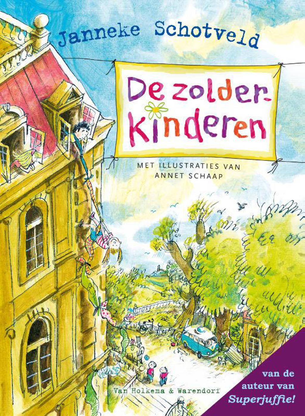 De zolderkinderen - Janneke Schotveld
