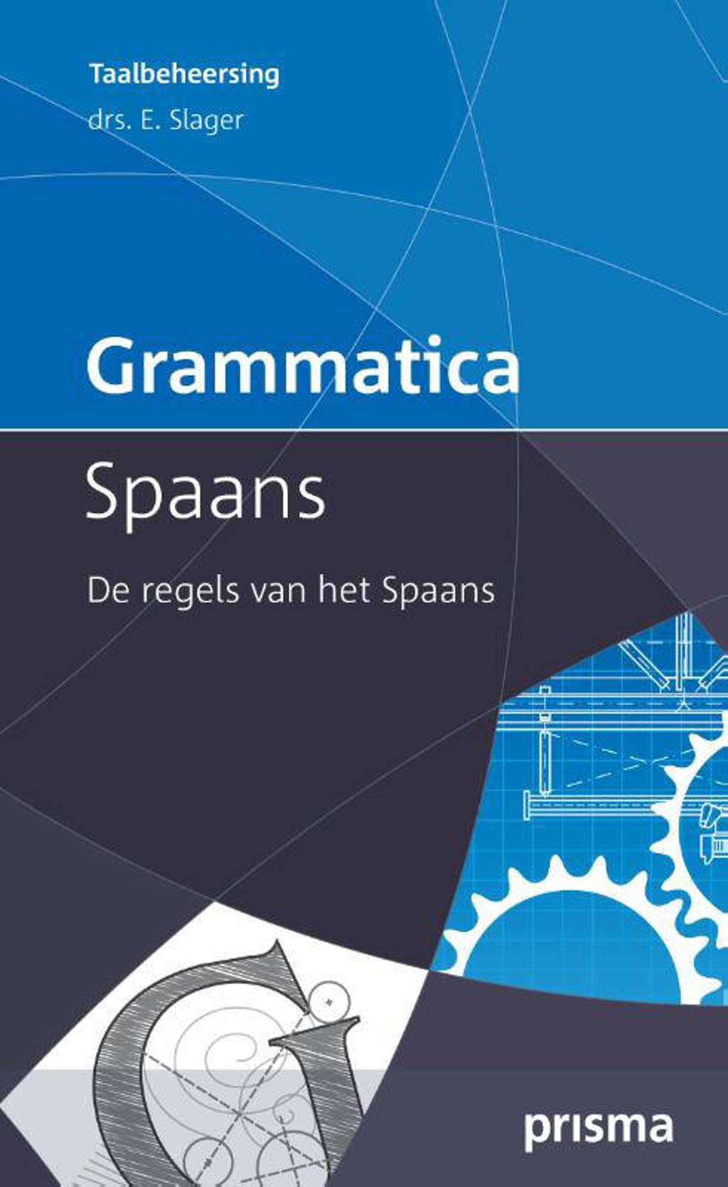 Grammatica Spaans - Emile Slager