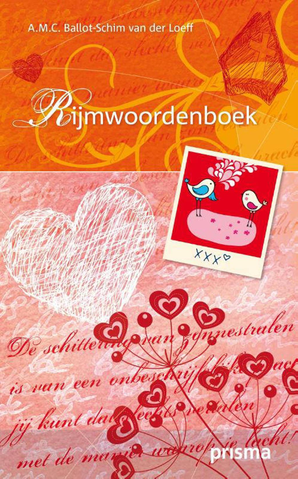 Prisma Rijmwoordenboek - A.M.C. Ballot-Schim van der Loeff