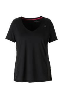 sport T-shirt met mesh