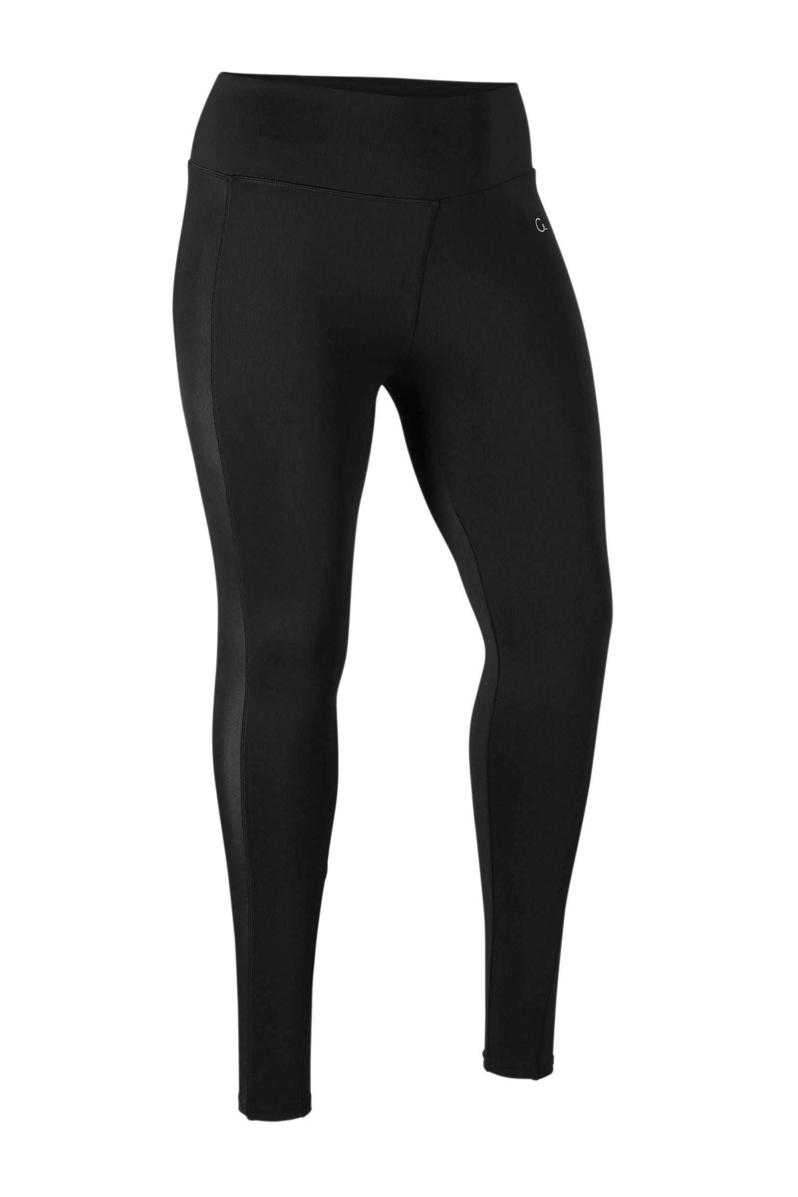 whkmp's great looks sport sport legging met glanzende zijstreep (dames)