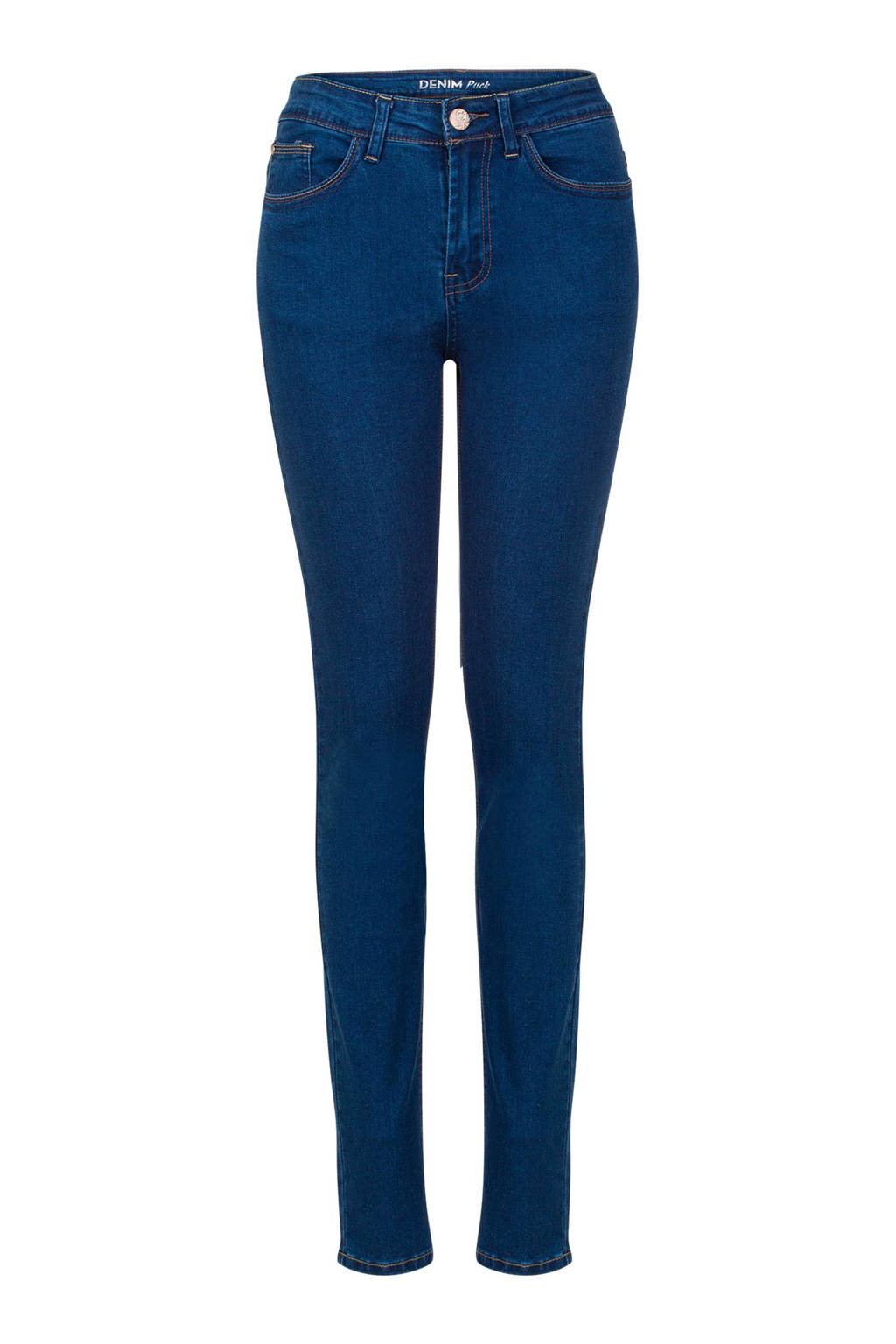 Miss Etam Lang slim fit jeans 36 inch, Dark denim