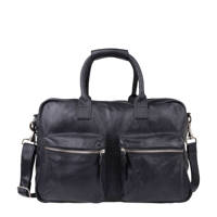 Cowboysbag   The Bag leren tas, 100 BLACK