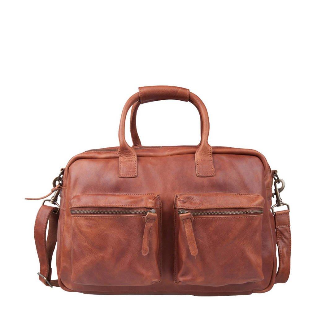 Cowboysbag   The Bag leren tas, 300 COGNAC