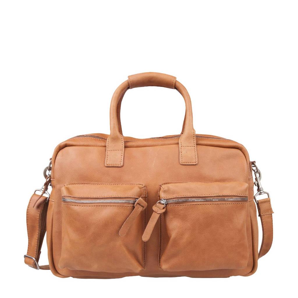 Cowboysbag   The Bag leren tas, 320 TOBACCO
