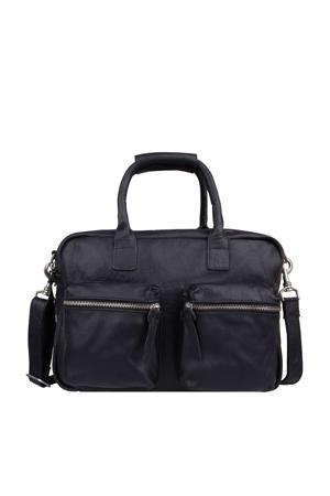 The Small Bag leren tas